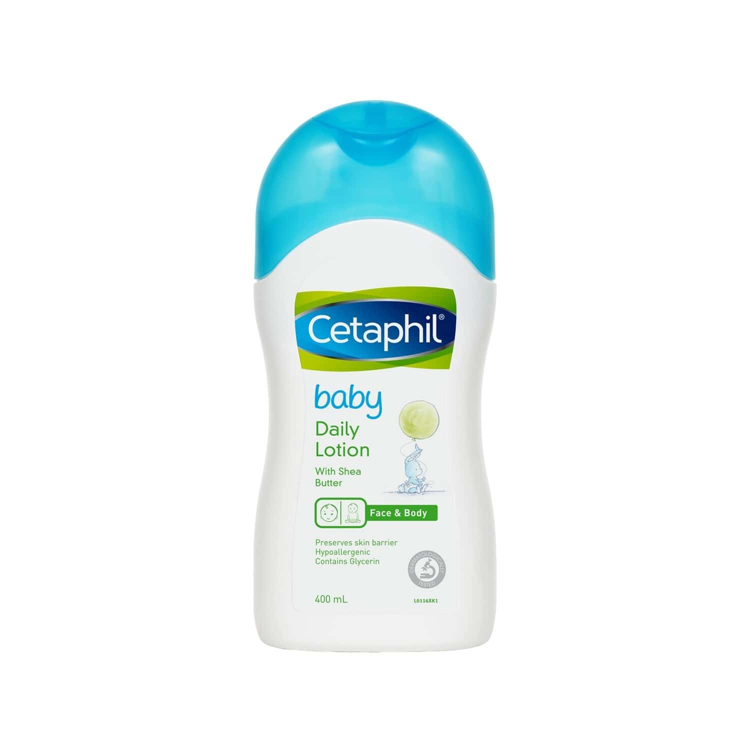 Cetaphil Baby Daily Lotion (with Shea Butter) - 400ml