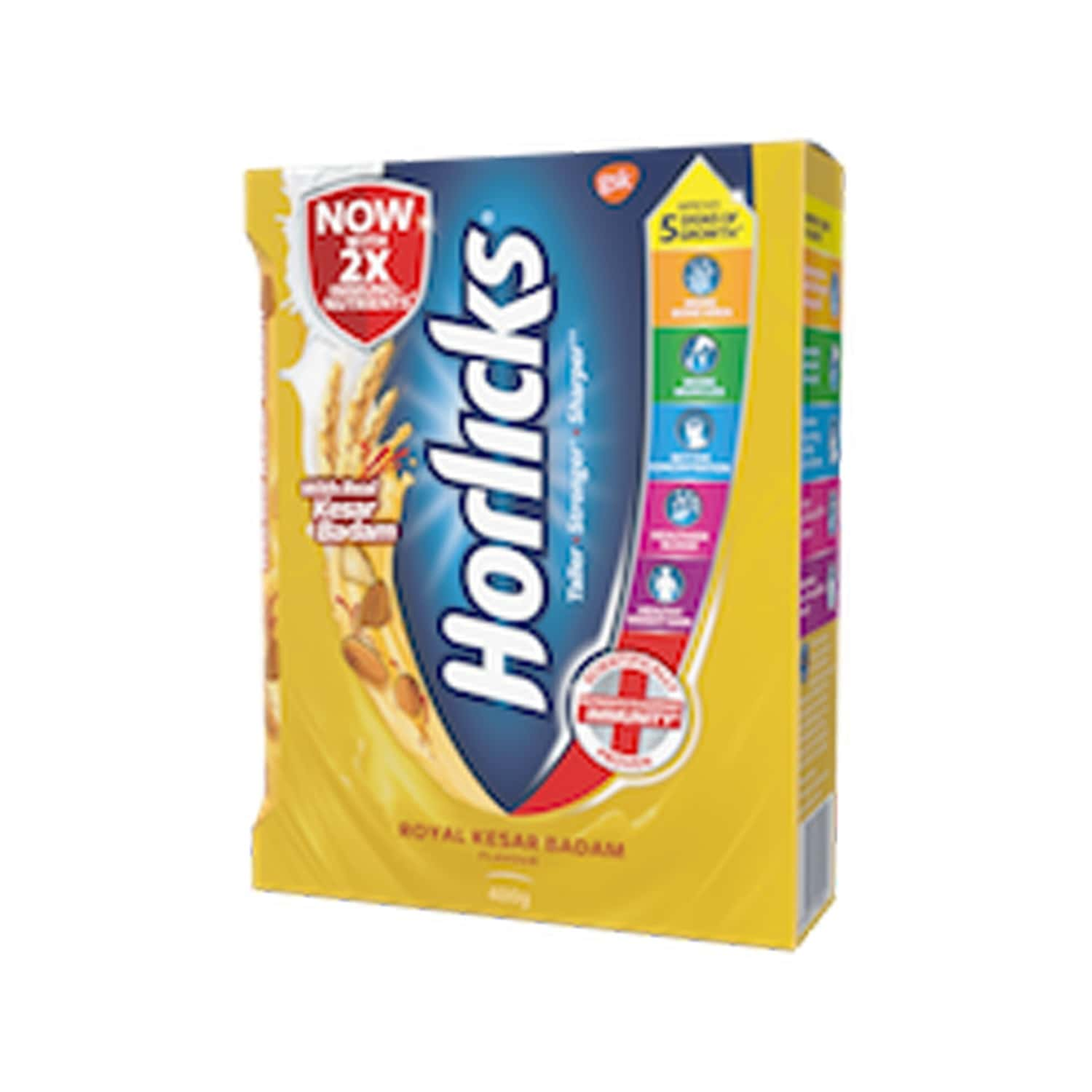 Horlicks Kesar Badam Nutrition Drink Refill Of 400 G