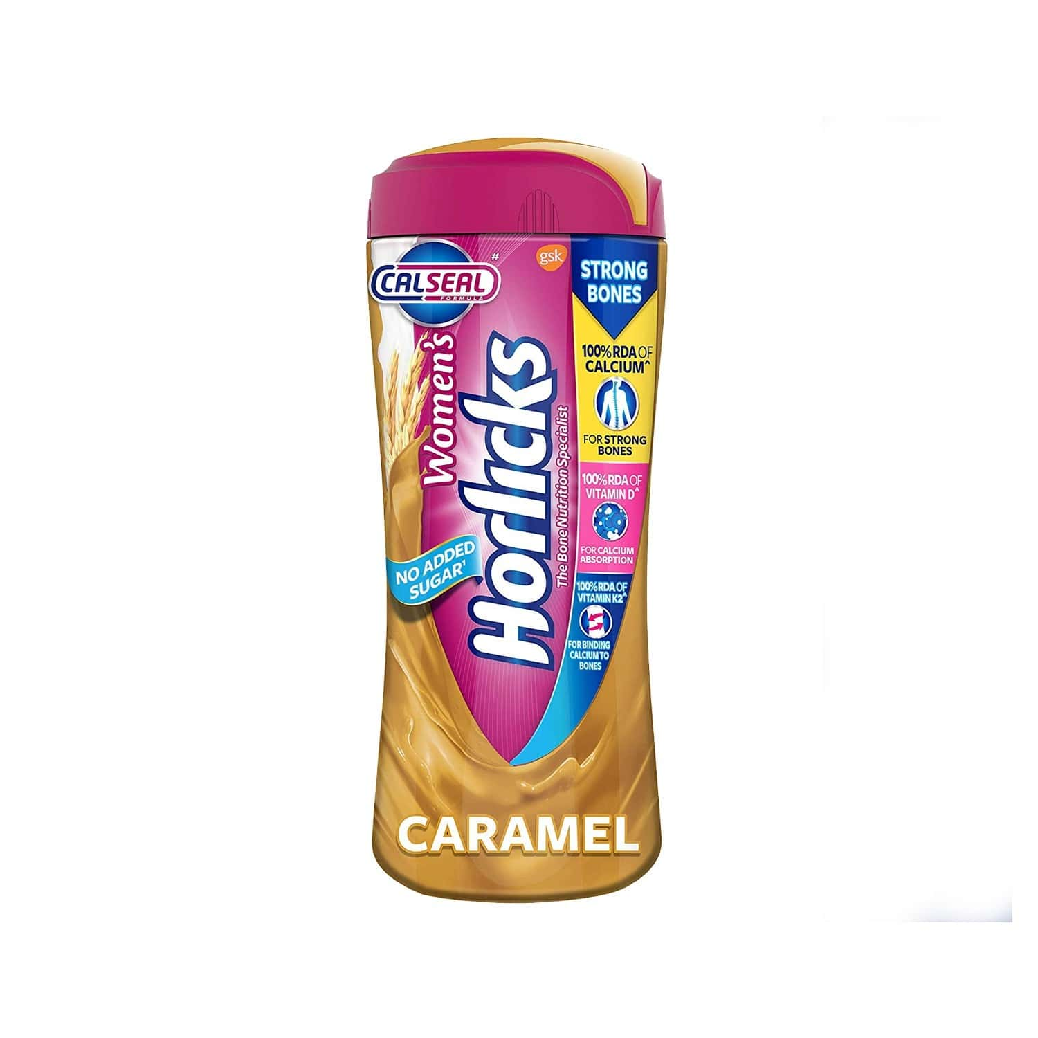 Women's Horlicks Caramel Nutrition Drink Jar Of 400 G