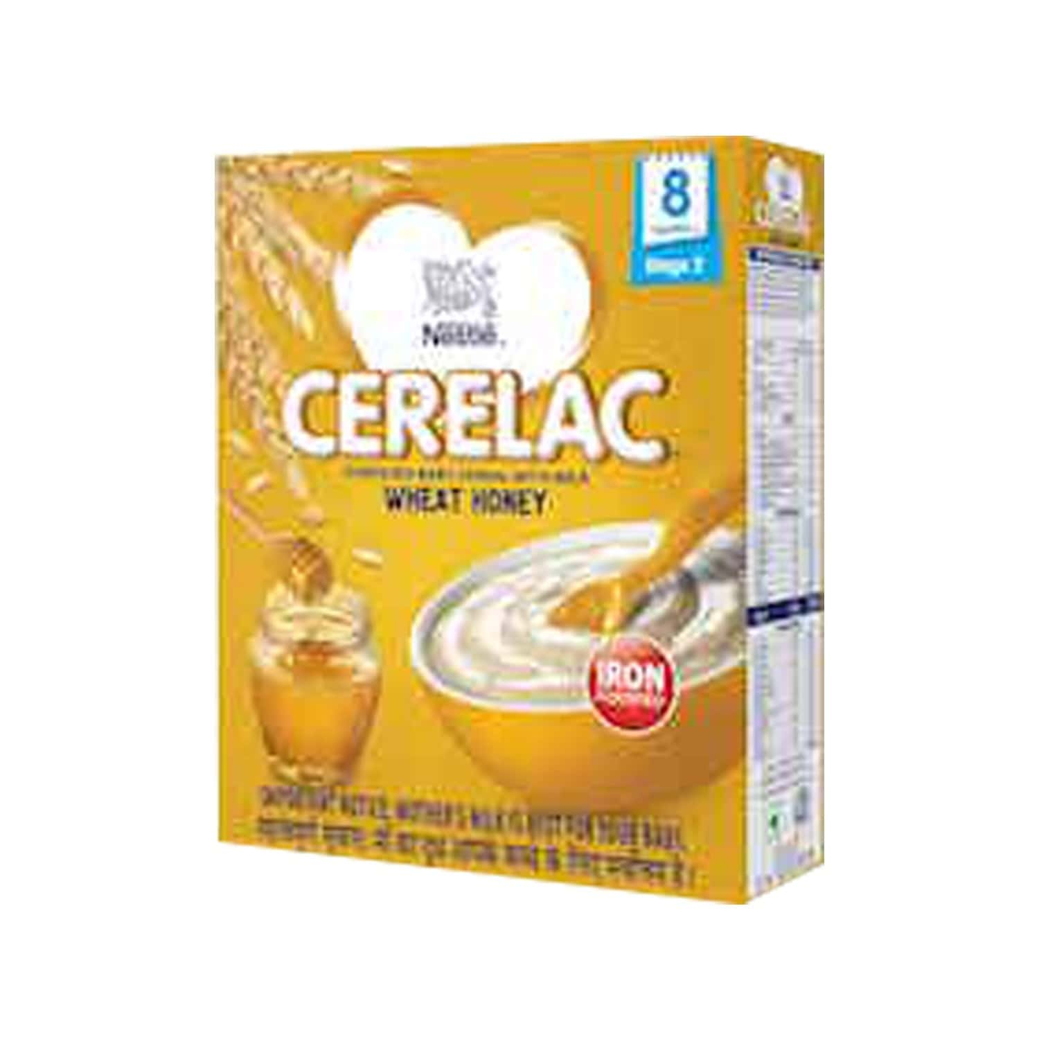 Nestle Cerelac Infant Cereal Stage-2 (8 - 24 Months) Wheat Honey 300 Gm
