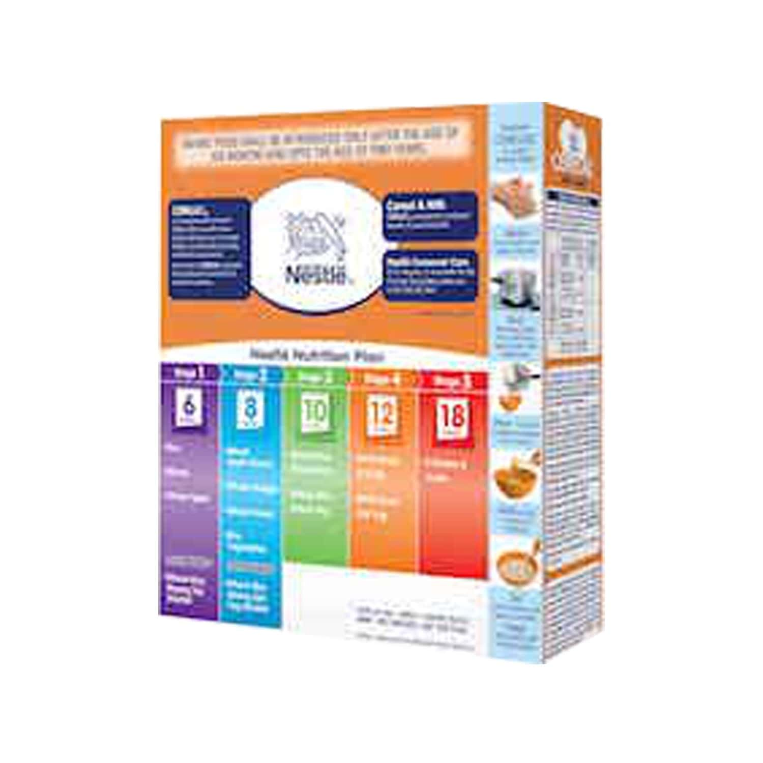 Nestle Cerelac Baby Cereal With Milk, Wheat Orange From 8 Months, 300g Bag-in-box Pack