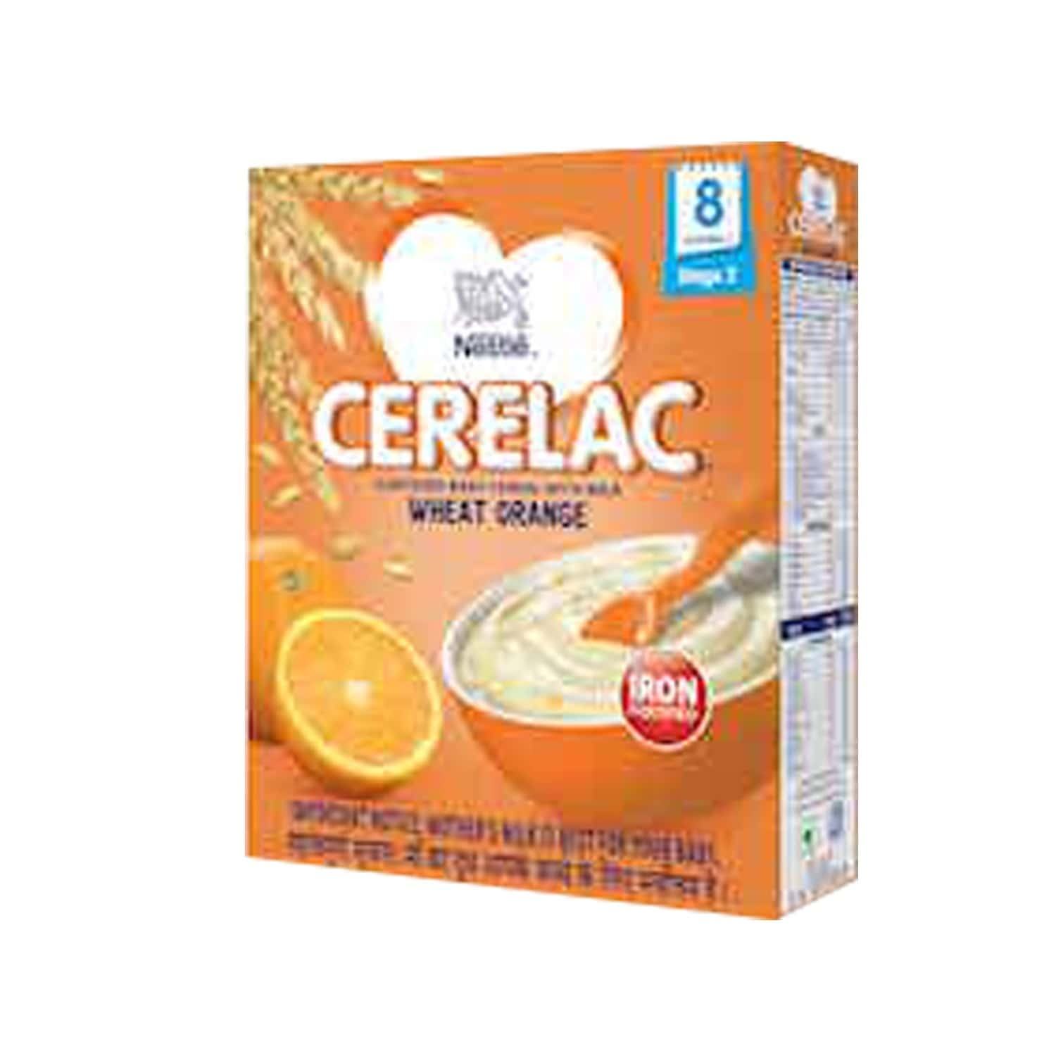 Nestle Cerelac Infant Cereal Stage-2 (8 - 24 Months) Wheat Orange 300 Gm
