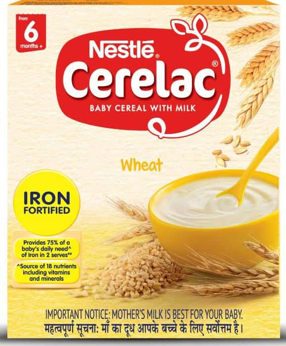 Nestle Cerelac Baby Food Infant Cereal Stage1 (6 -12 Months) Refill Of 300 G
