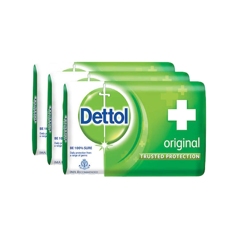 Dettol Germ Protection Soap Original 3x75 Gm