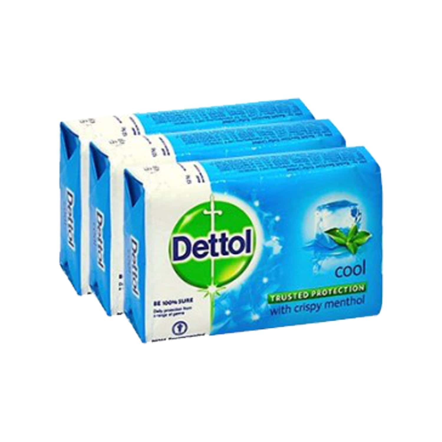 Dettol Germ Protection Soap Cool 3x120 Gm