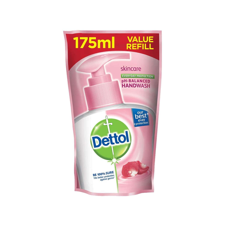 Dettol Germ Protection Liquid Handwash Skincare Refill Of 175 Ml