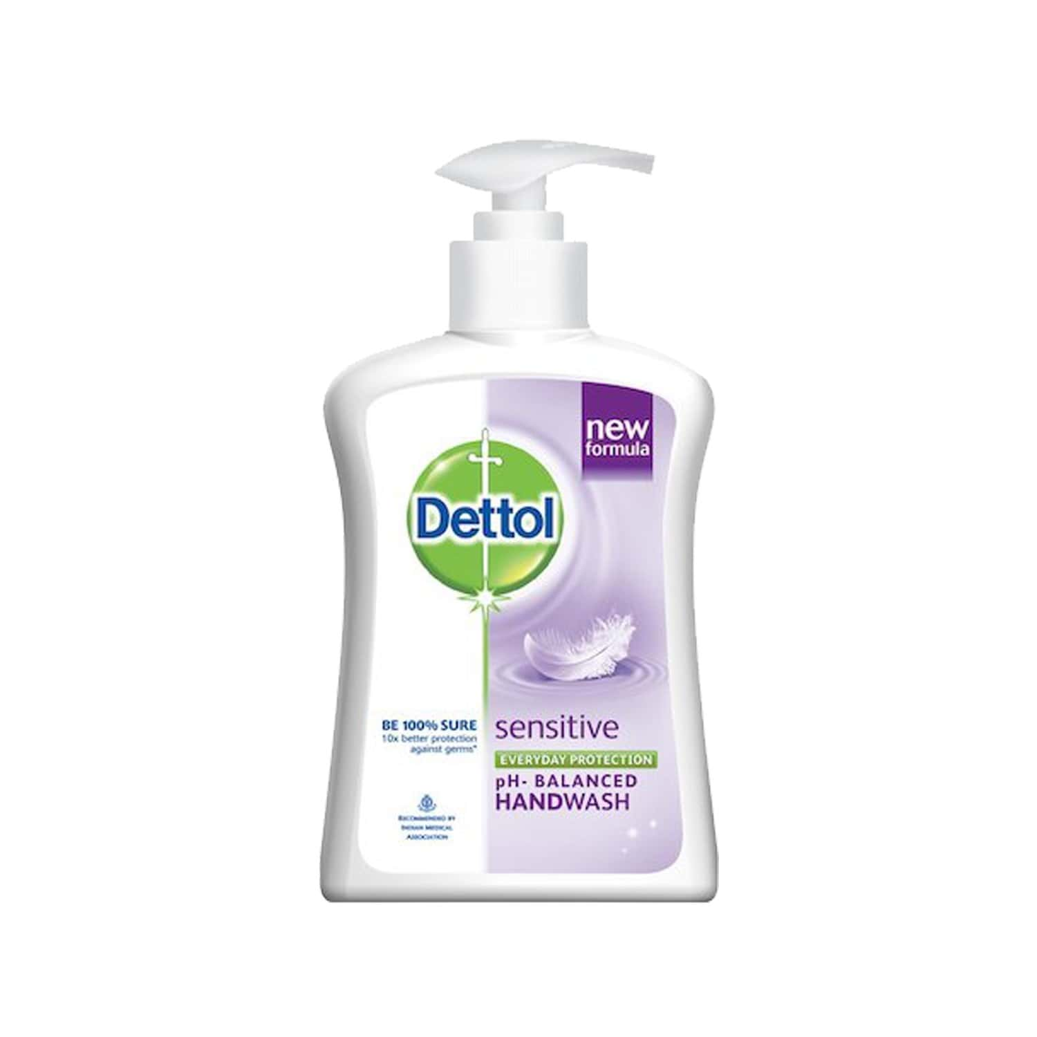 Dettol Germ Protection Liquid Hand Wash Sensitive 200 Ml, Get Free 185 Ml Refill Pack