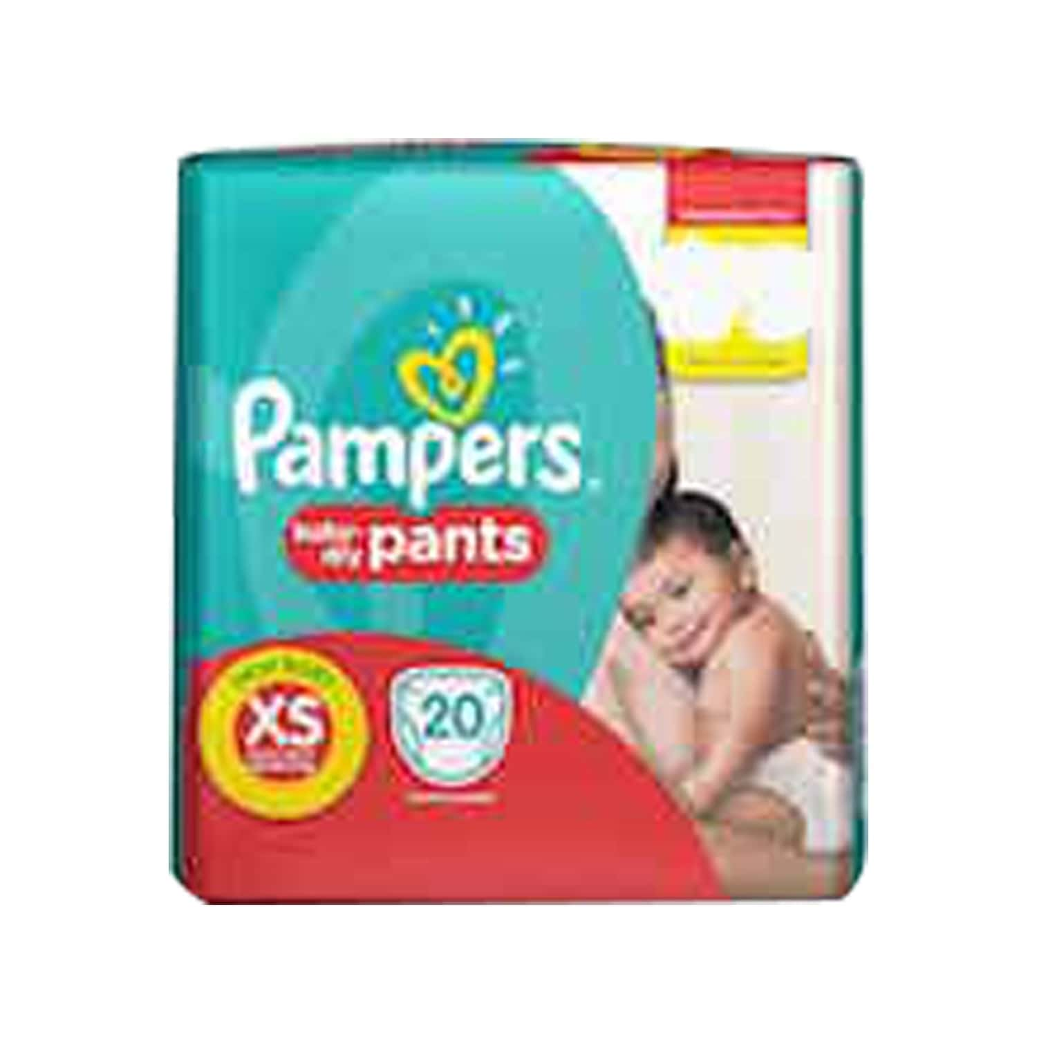 Pampers Diaper Pants New Born Size New Born Size 20 Pieces