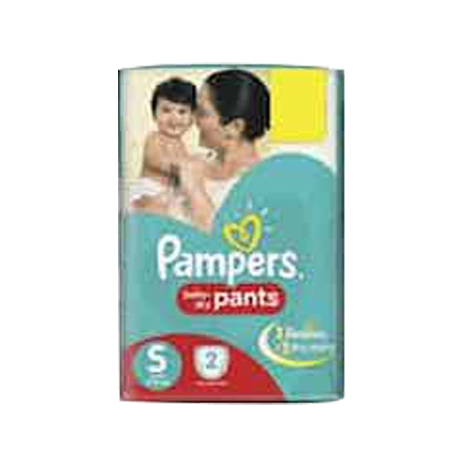 Pampers Diaper Pants Small 2 Pieces