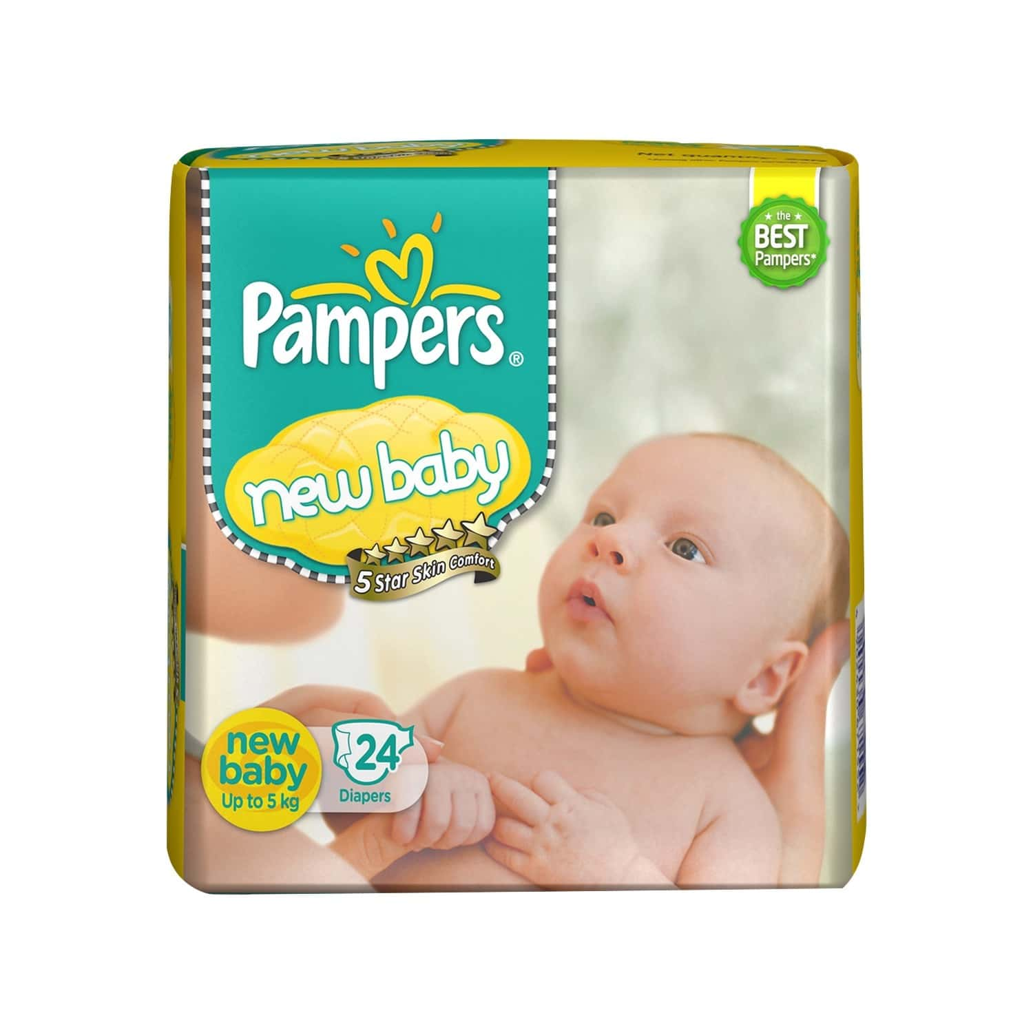 Pampers Active Baby Diaper Size New Born Packet Of 24