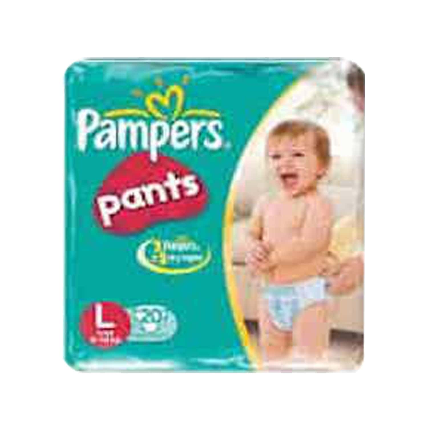 Pampers Diaper Pants Large Size 20 Pieces