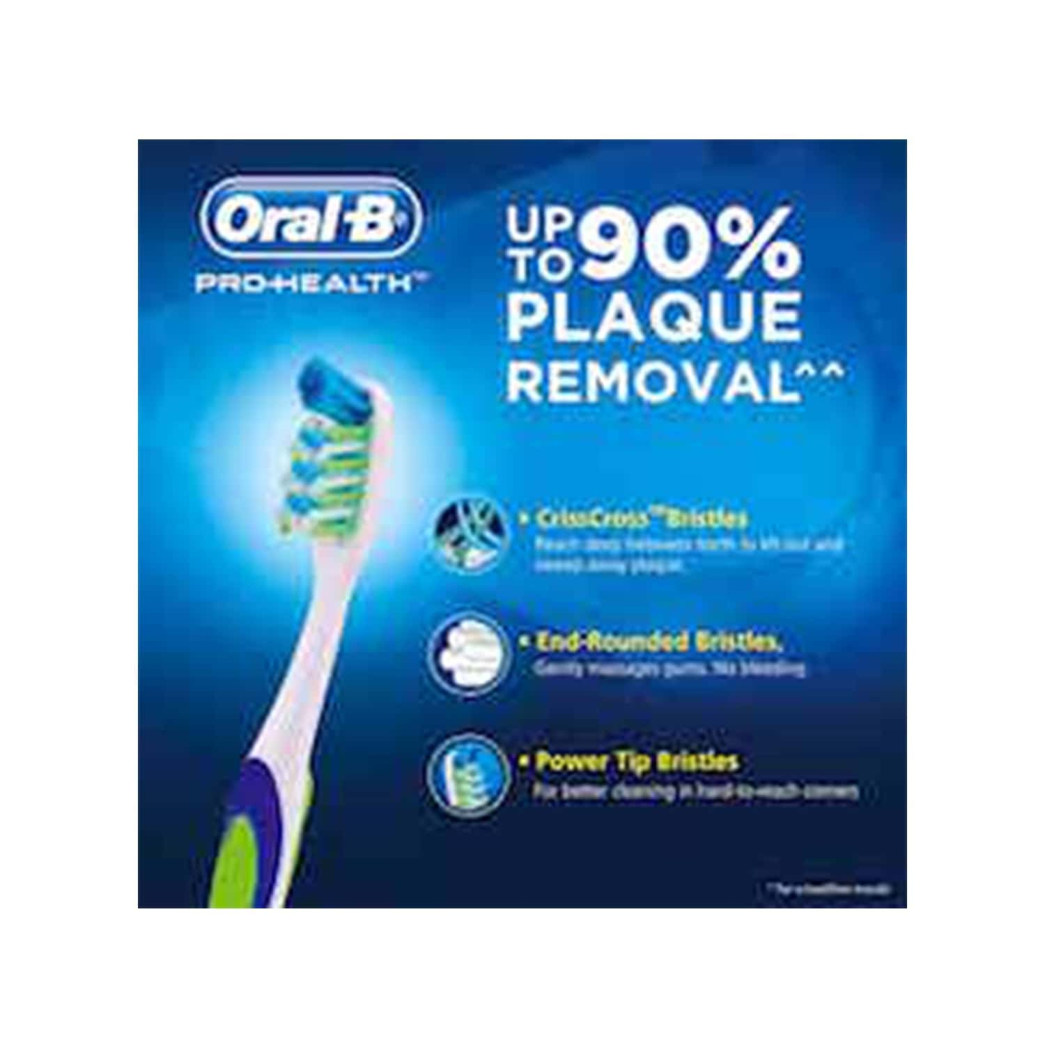 Oral-b Pro Health Toothbrush Base Medium 1 Piece