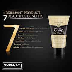 Olay Total Effects Anti Ageing Face Wash Cleanser 50 Gm