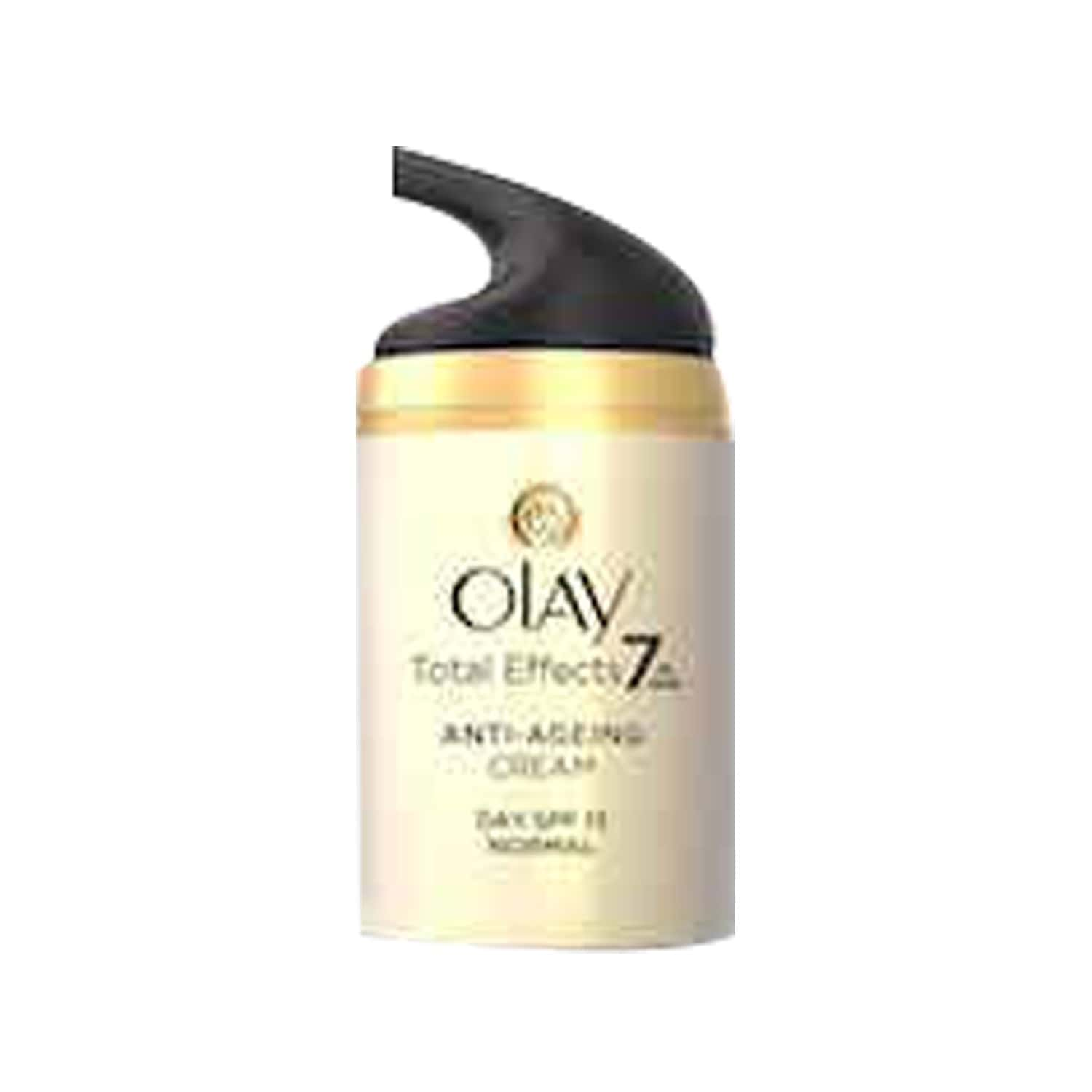 Olay Total Effects 7 In 1 Anti Ageing Skin Cream (moisturizer) Normal Spf15 50 Gm
