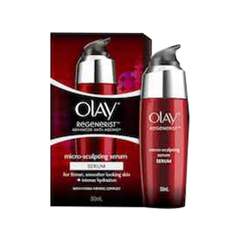 Olay Regenerist Advanced Anti Aging Micro Sculpting Serum Intense Hydration With Hydra Firming Complex Skin Cream 50 Ml
