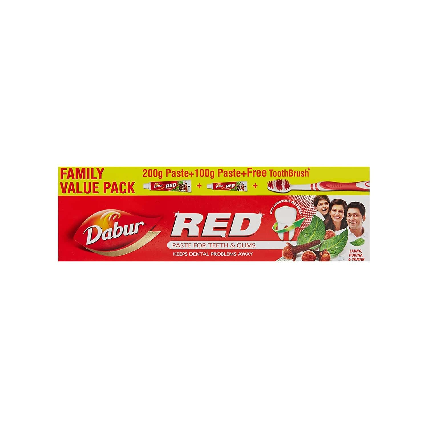 Dabur Red Paste 300gm Family Pack