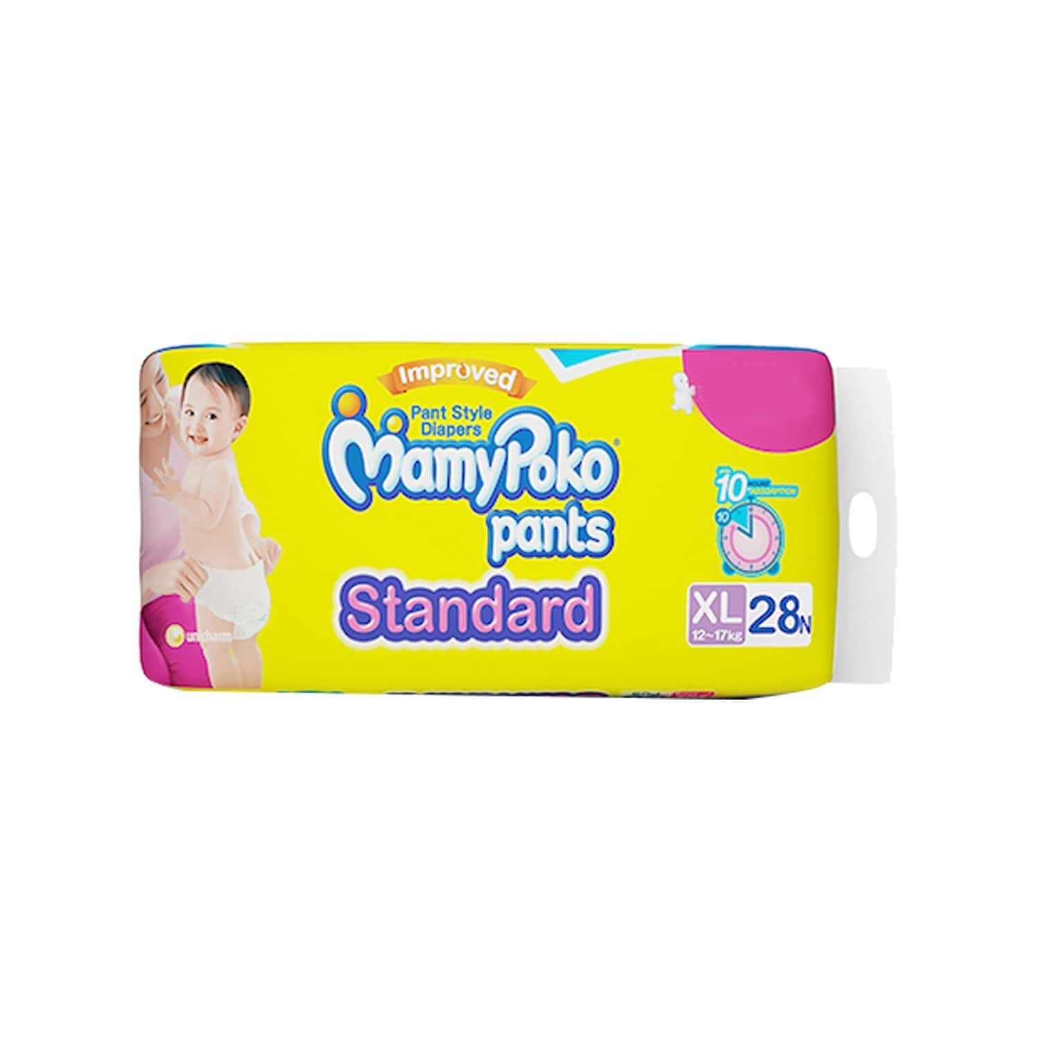 Mamypoko Pants Standard Diaper Extra Large Size Pack Of 28
