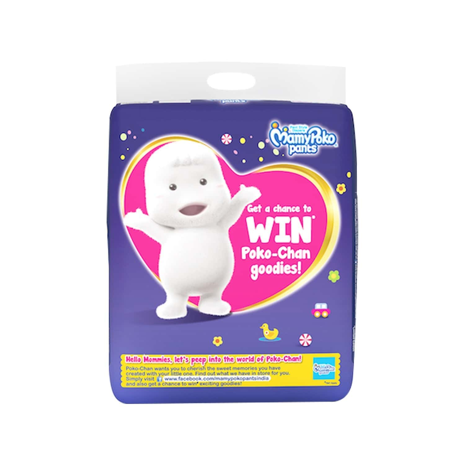 Mamypoko Pants Extra Absorb Diaper Extra Large Size Pack Of 56