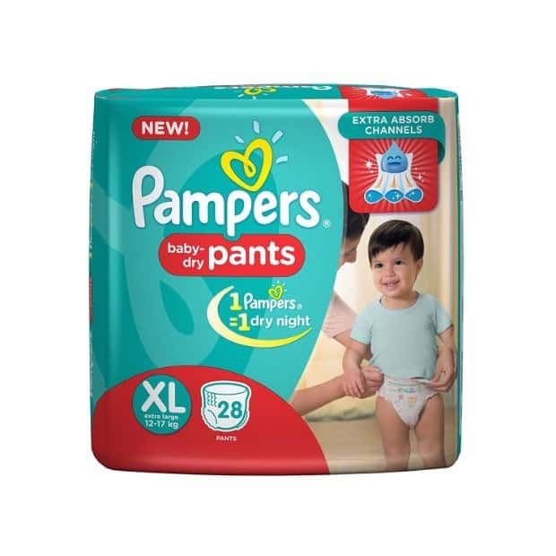 Pampers Diaper Pants Extra Large 28 Pieces