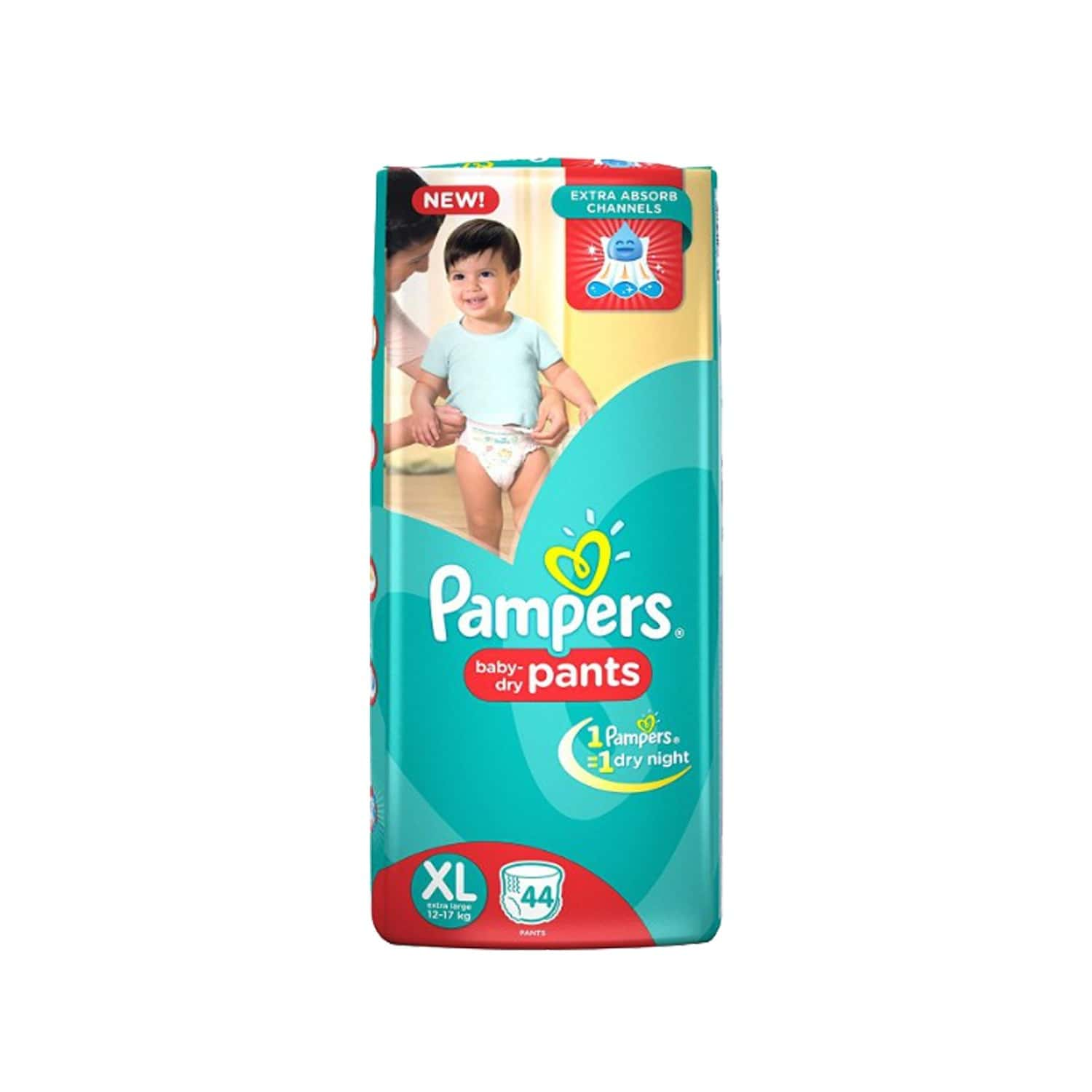 Pampers Diaper Pants Extra Large 44 Pieces