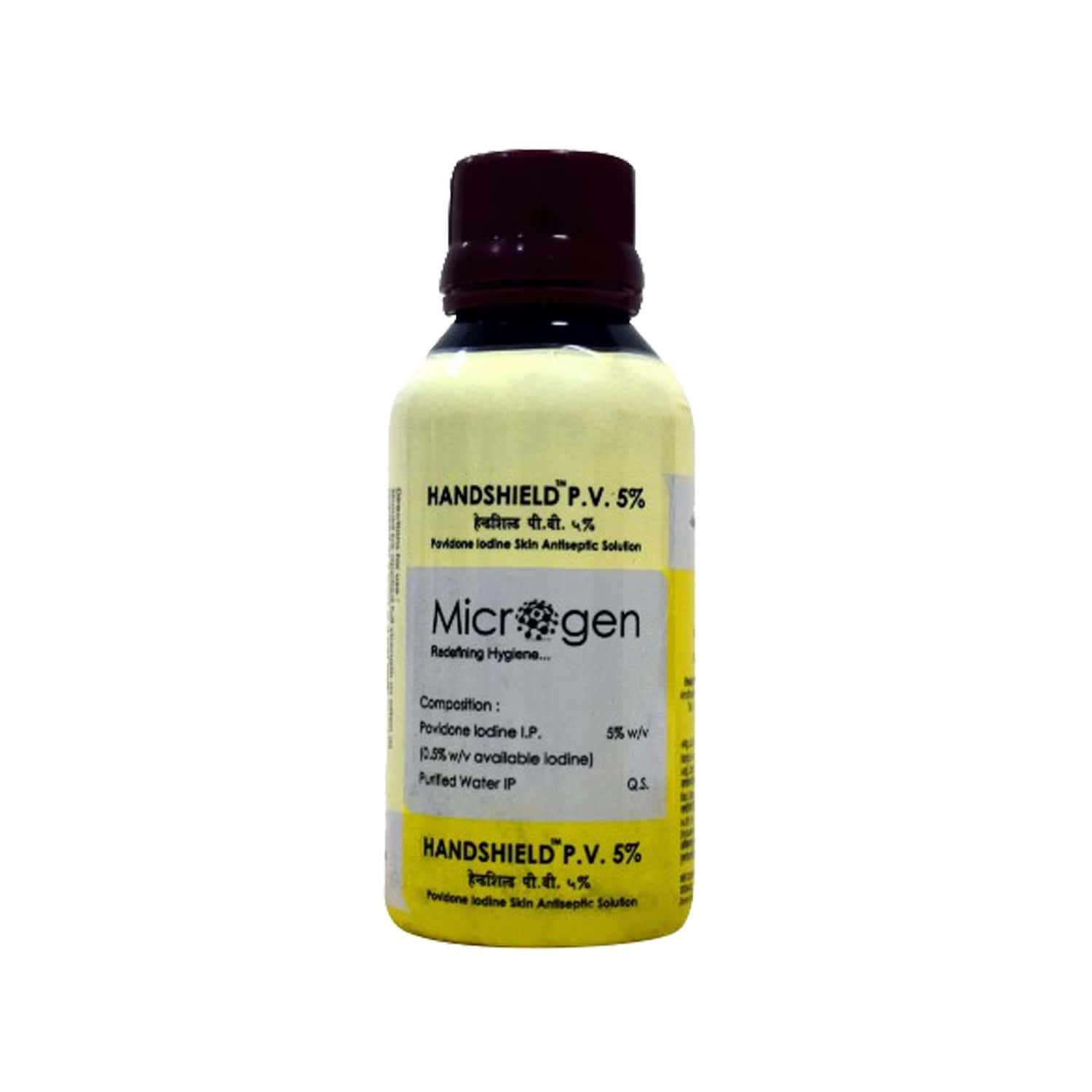 Microgen Hand Shield Pv 5% 100 Ml