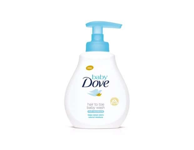 Baby Dove Hair To Toe Baby Wash, Rich Moisture 400 Ml