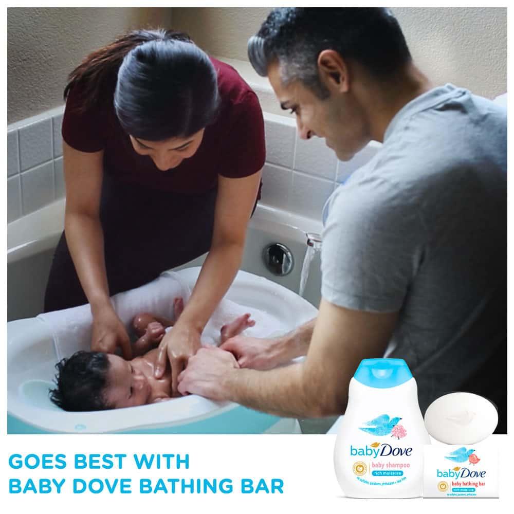 Baby Dove Rich Moisture Shampoo Bottle Of 200 Ml