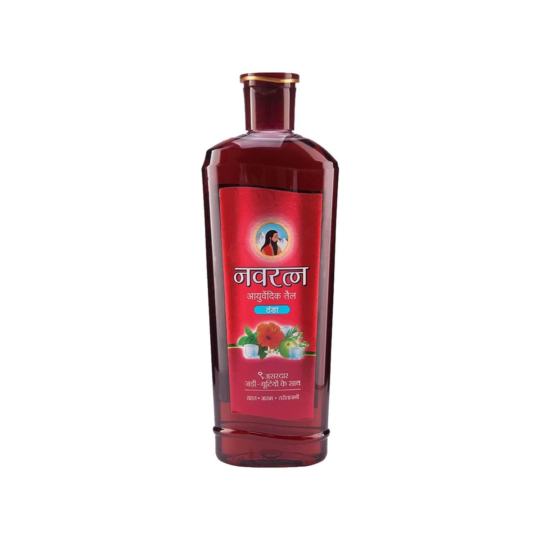 Navratna Ayurvedic Cool Hair Oil Bottle Of 500 Ml
