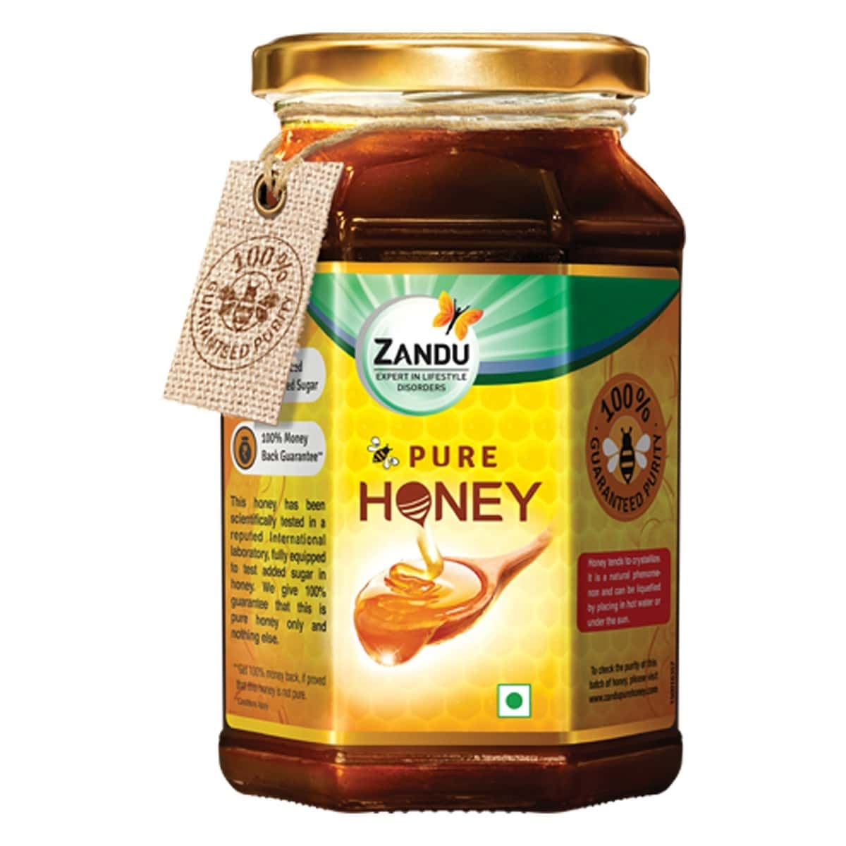 Zandu Pure Honey Health Food Bottle Of 500 G