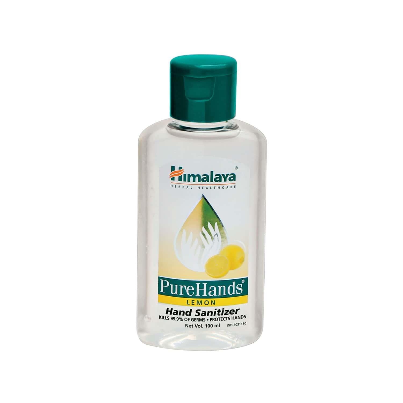 Himalaya Pure Hands Sanitizer Lemon 100 Ml