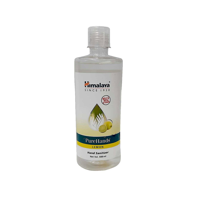 Himalaya Pure Hands Sanitizer Lemon 500 Ml