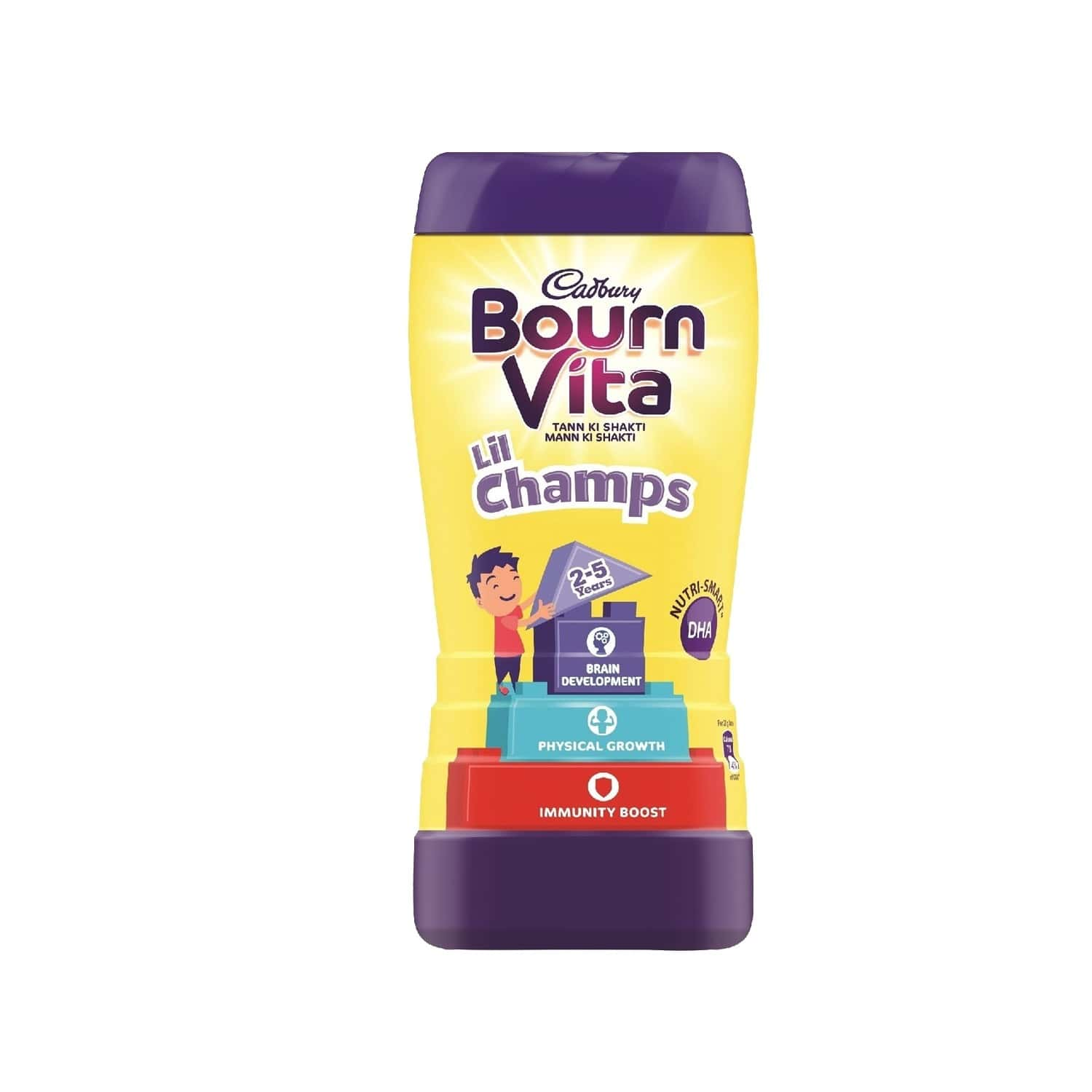 Cadbury Bournvita Lil Champs Nutrition Drink Jar Of 200 G