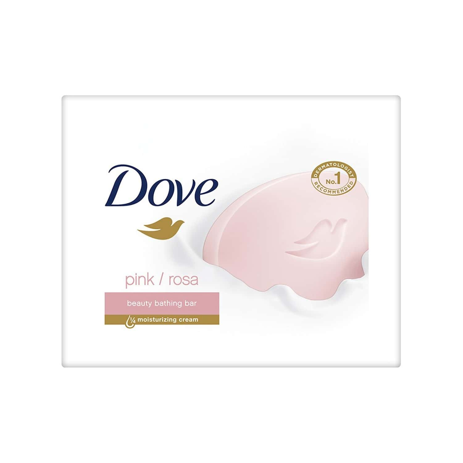 Dove Pink Rose (pack Of 3) Soap Wrap Of 100 G