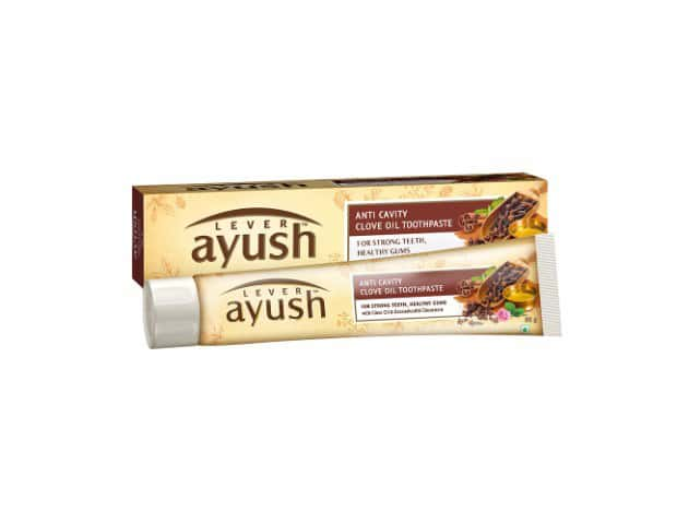 Lever Ayush Toothpaste, Anti Cavity Clove Oil 80 Gm
