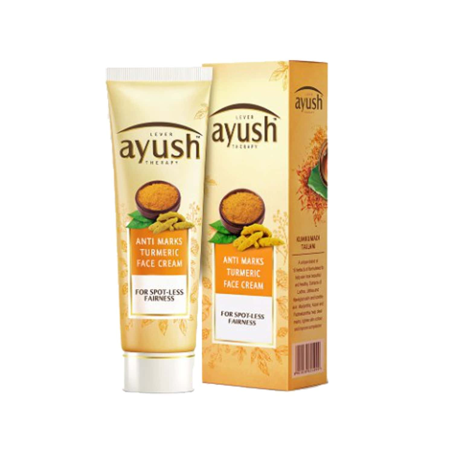 Lever Ayush Face Cream, Anti Marks Turmeric 25 Gm