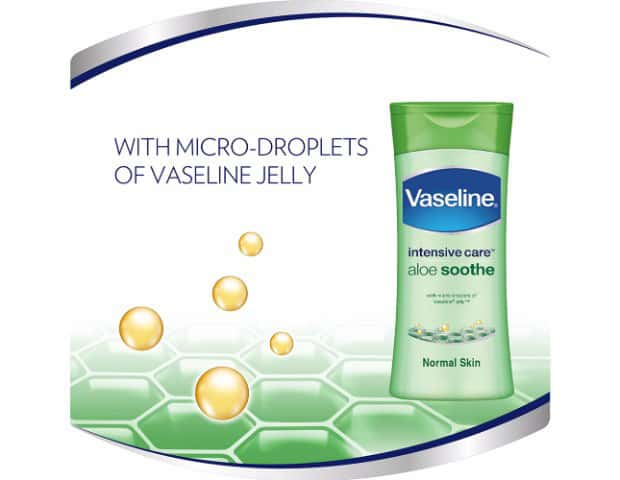 Vaseline Intensive Care Body Lotion, Aloe Soothe 200 Ml