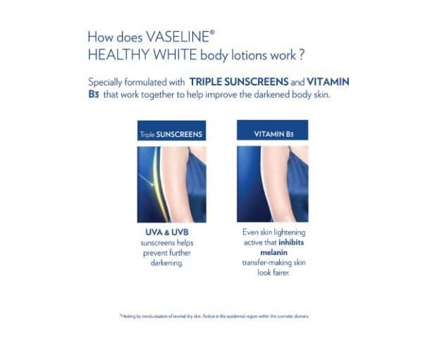 Vaseline Healthy White Body Lotion, Complete 10 200 Ml