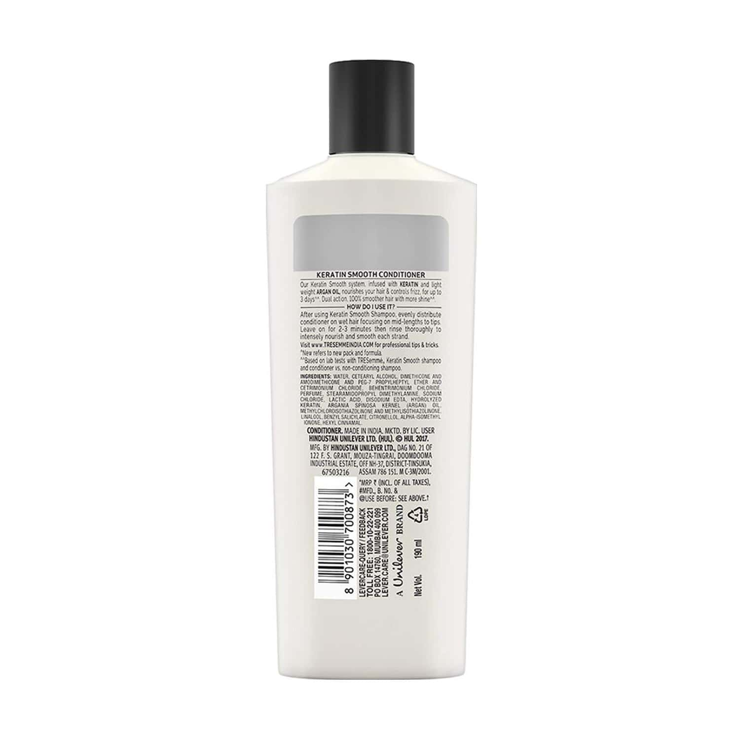 Tresemme Conditioner, Keratin Smooth 80 Ml