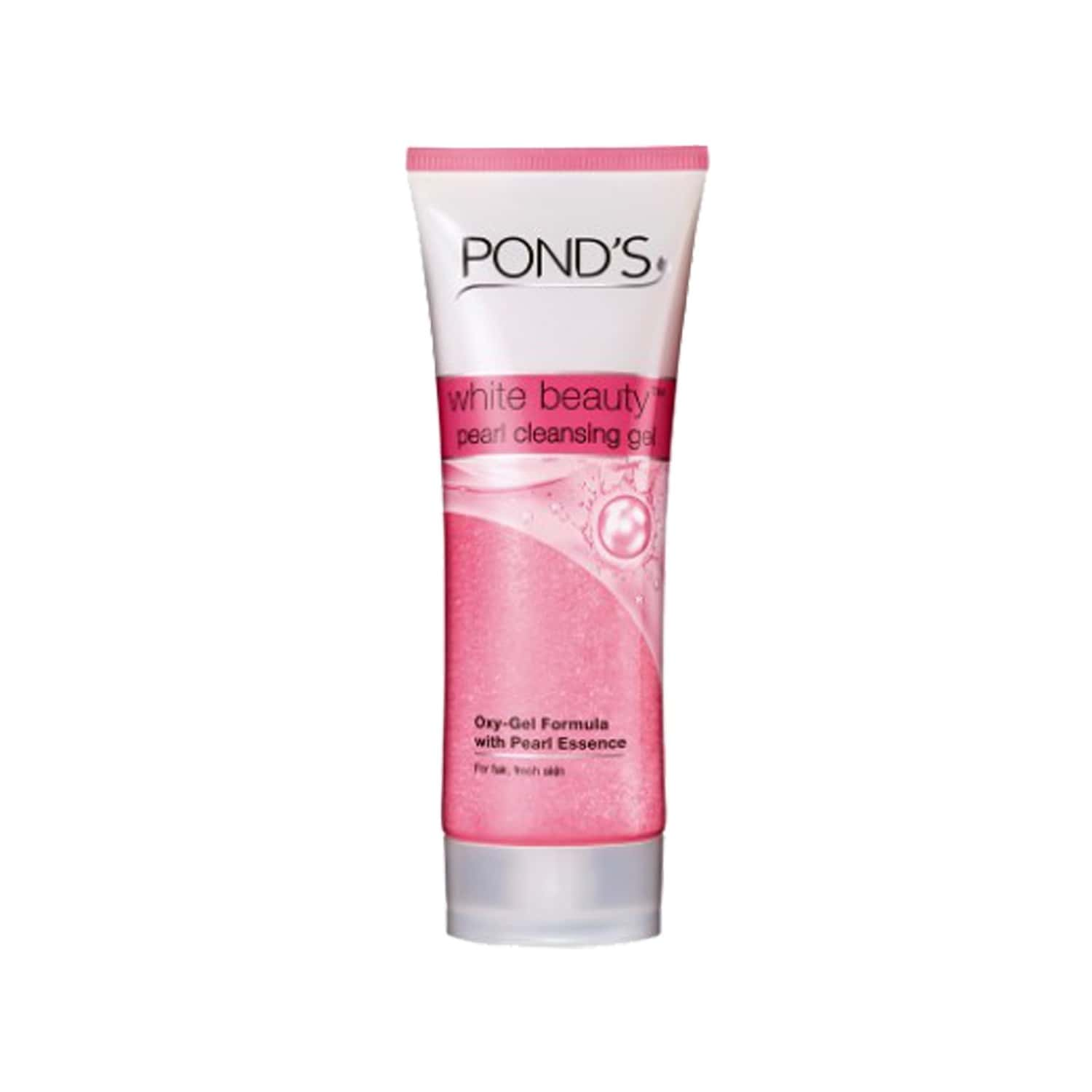 Pond's White Beauty Pearl Cleansing Gel Face Wash 100 Gm