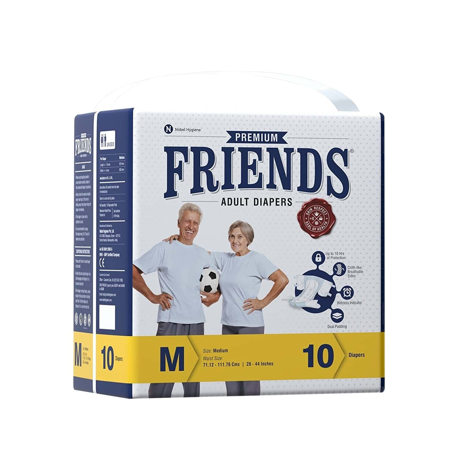 Friends Premium Adult Dry Medium Pants - 10s