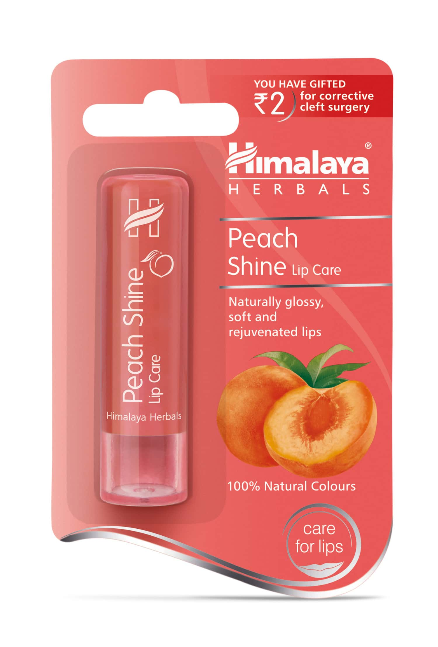 Himalaya Peach Shine Lip Care 4.5g