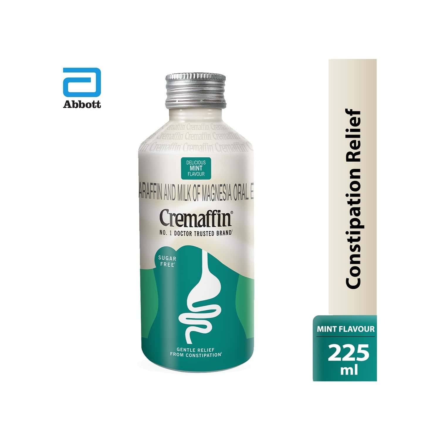 Cremaffin Constipation Relief Syrup Mint 225ml