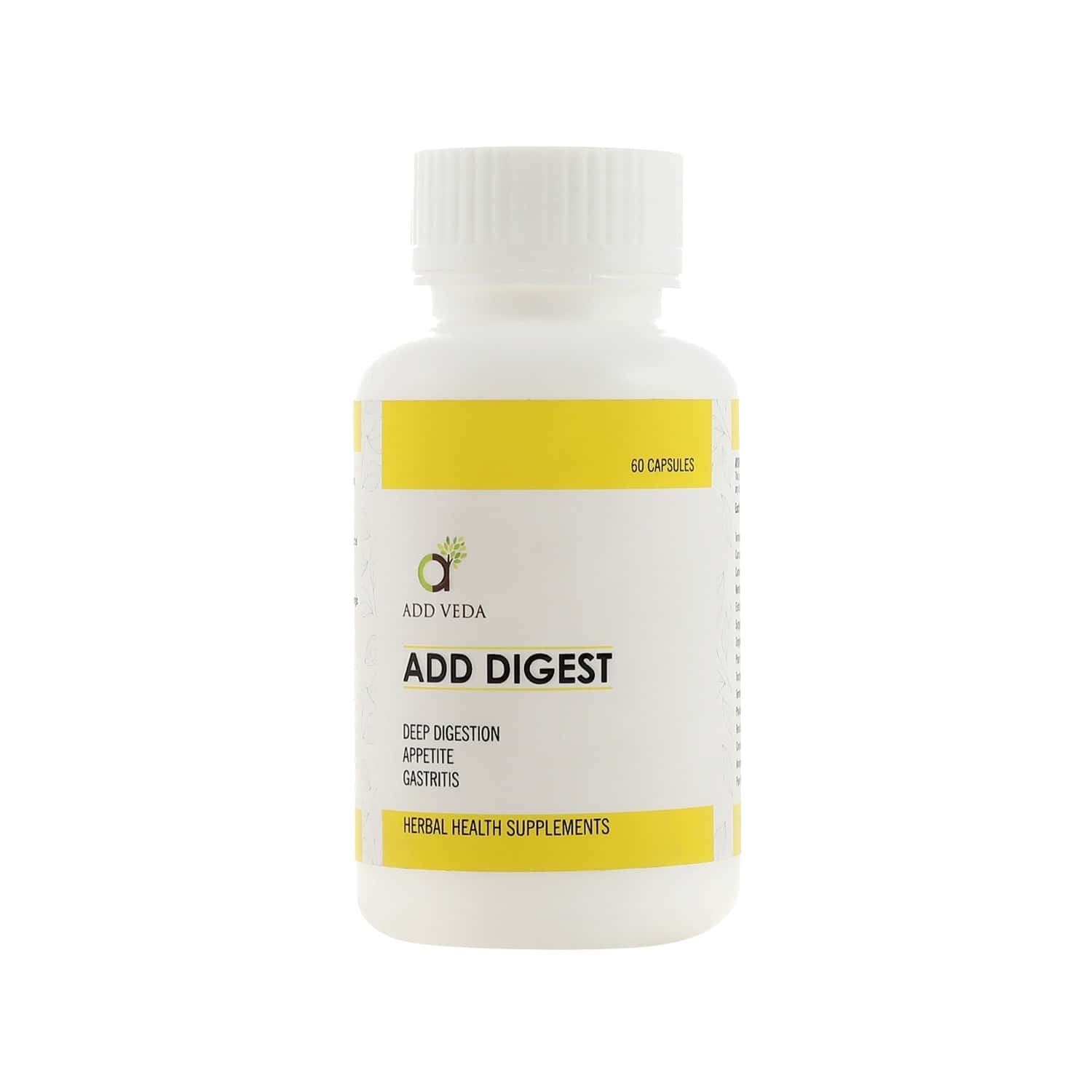 Add Digest - Deep Digestion, Appetite, Gastritis 60 Capsules