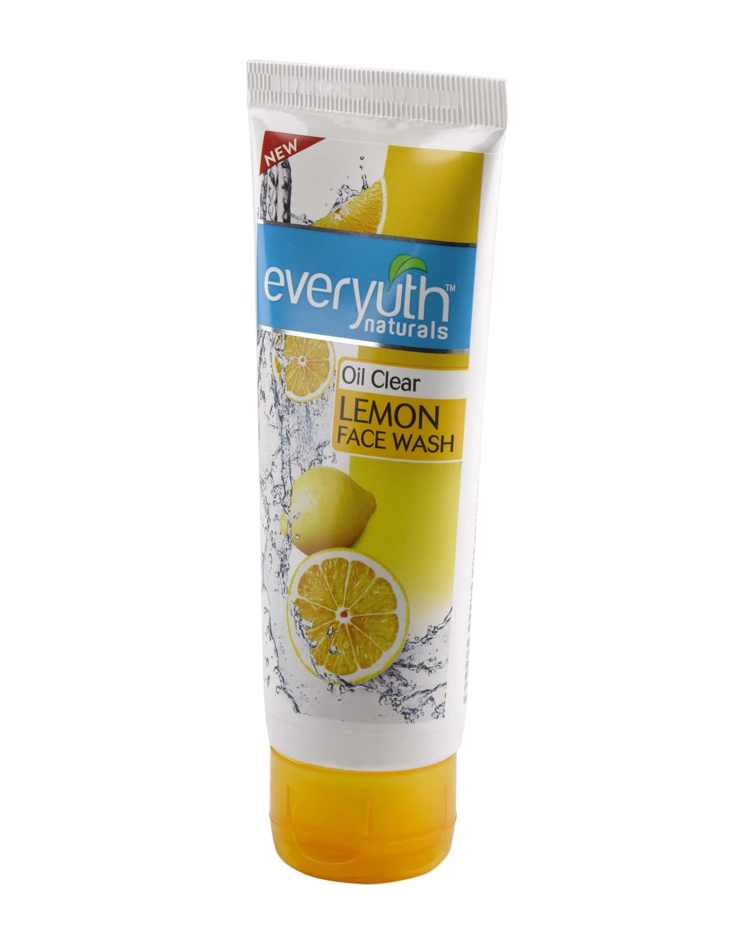 Everyuth Naturals Oil Clear Lemon Face Wash With Nano Vita-c 50 Gm