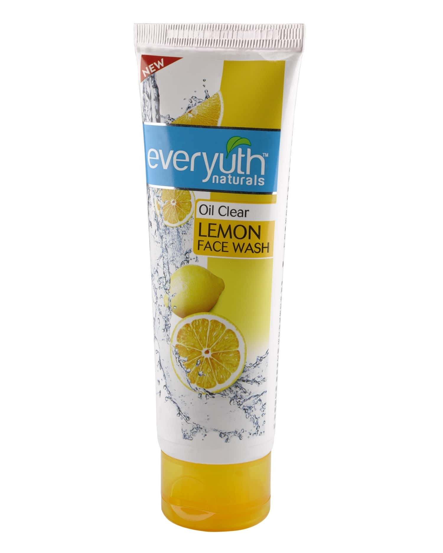 Everyuth Naturals Oil Clear Lemon Face Wash With Nano Vita-c 100 Gm