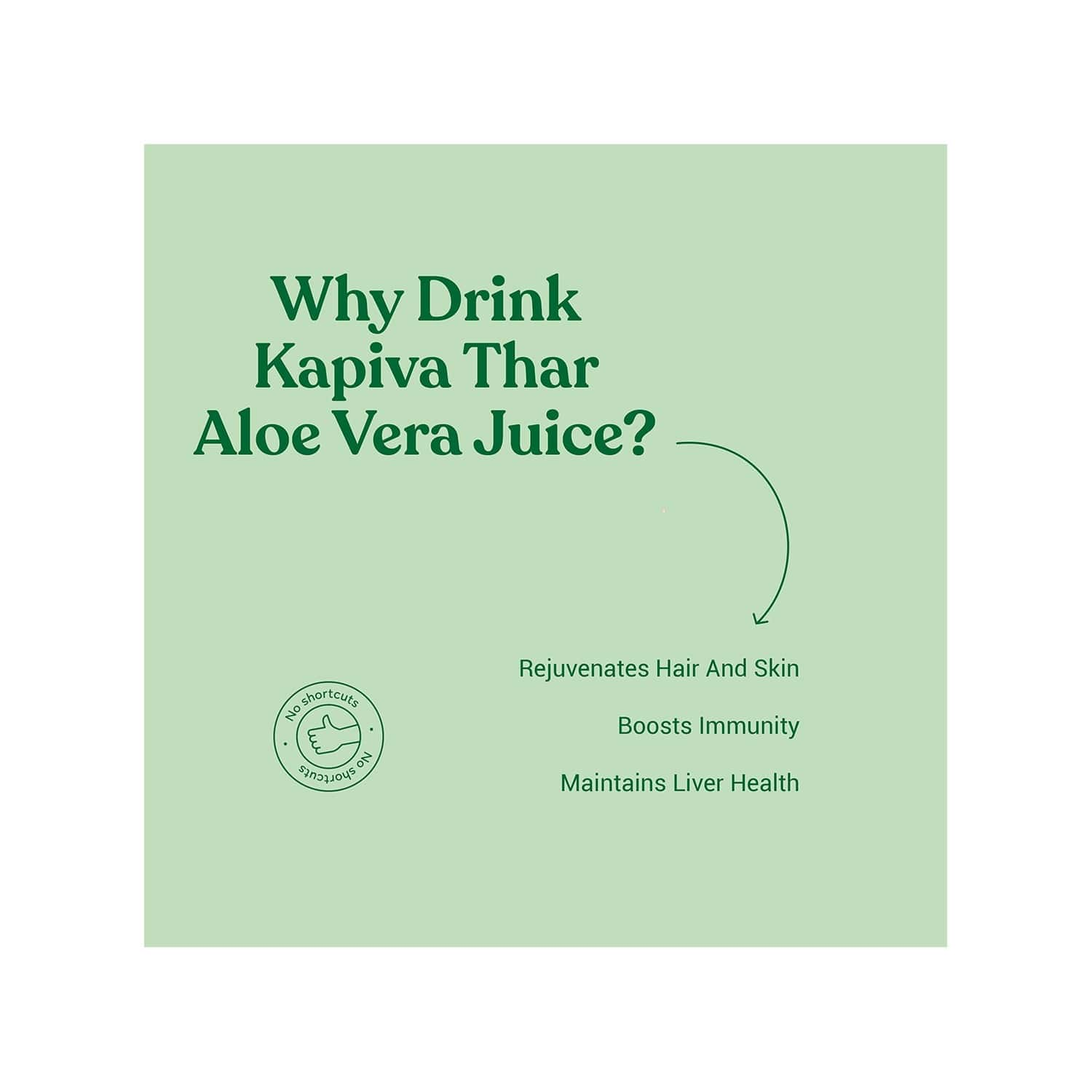 Kapiva Aloe Vera Health Juice Bottle Of 1 L