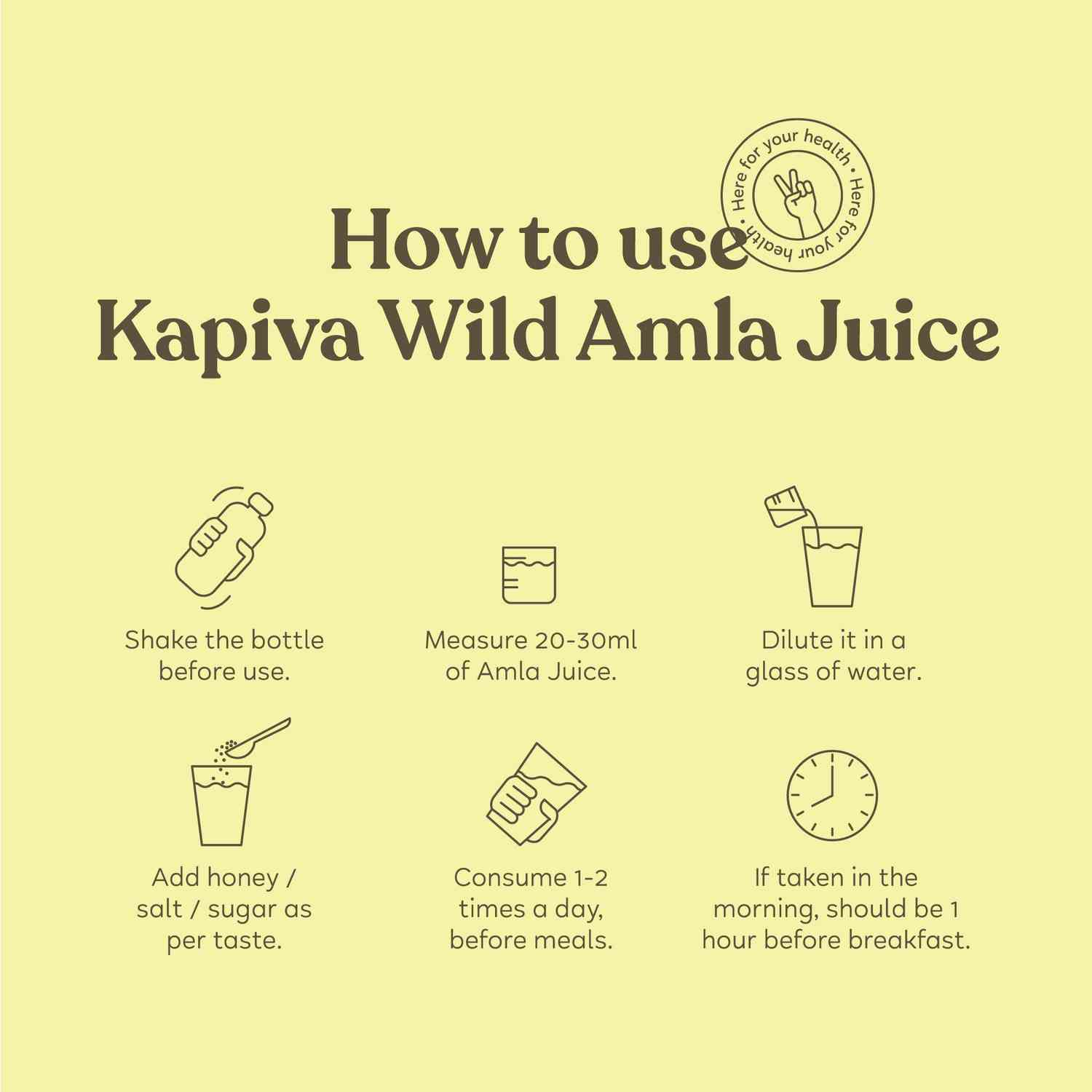 Kapiva Amla Health Juice Bottle Of 1 L