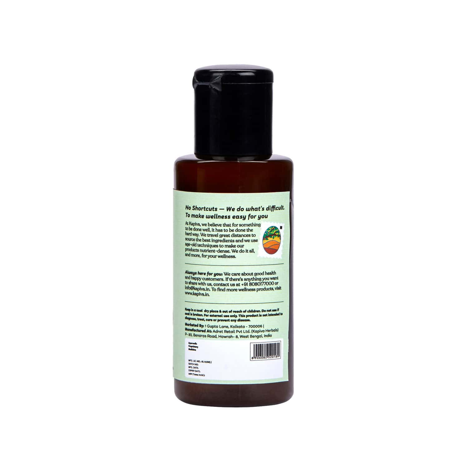 Kapiva Artho Sure Oil 100 Ml Joint Pain Reliever - 100% Natural