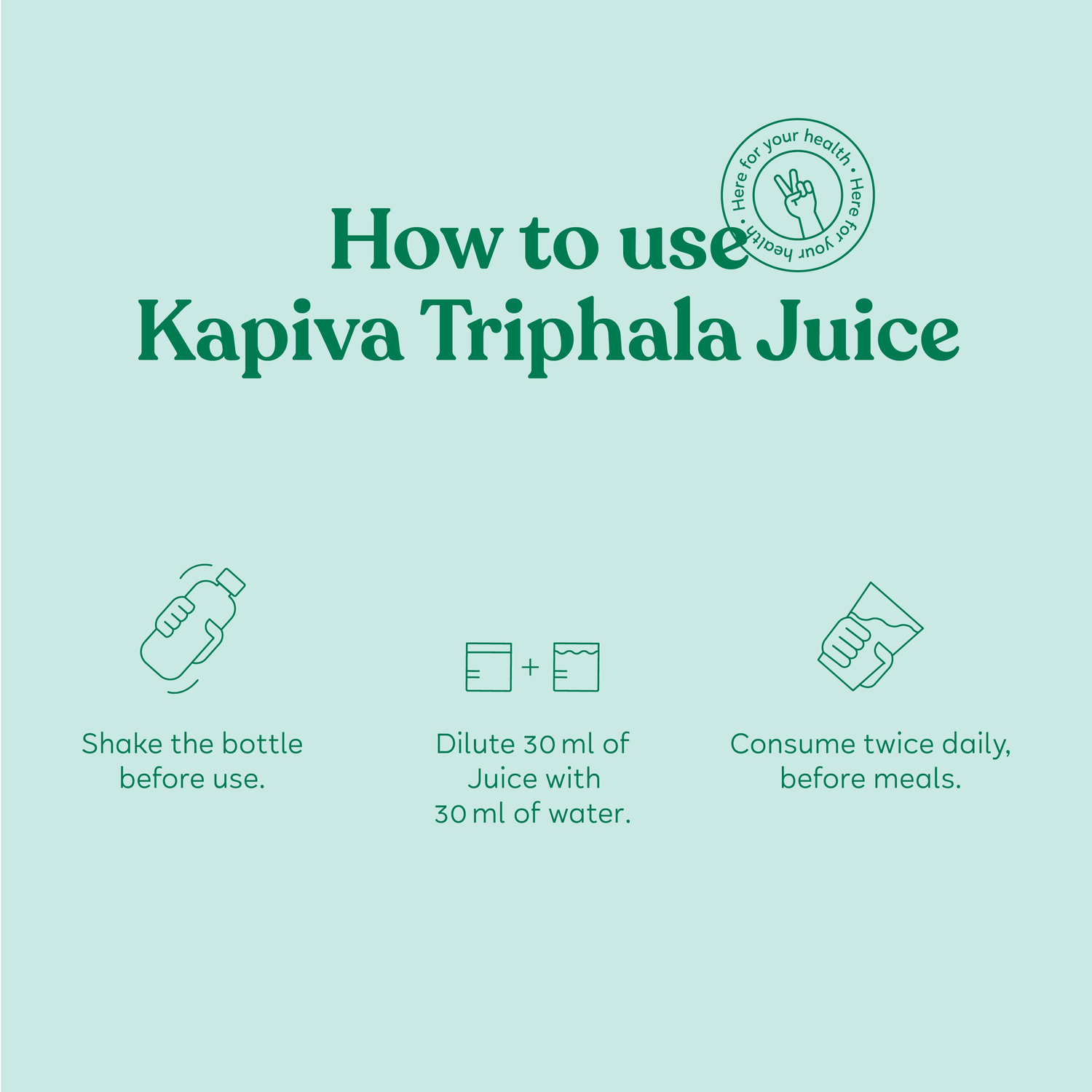 Kapiva Triphala Health Juice Bottle Of 1 L