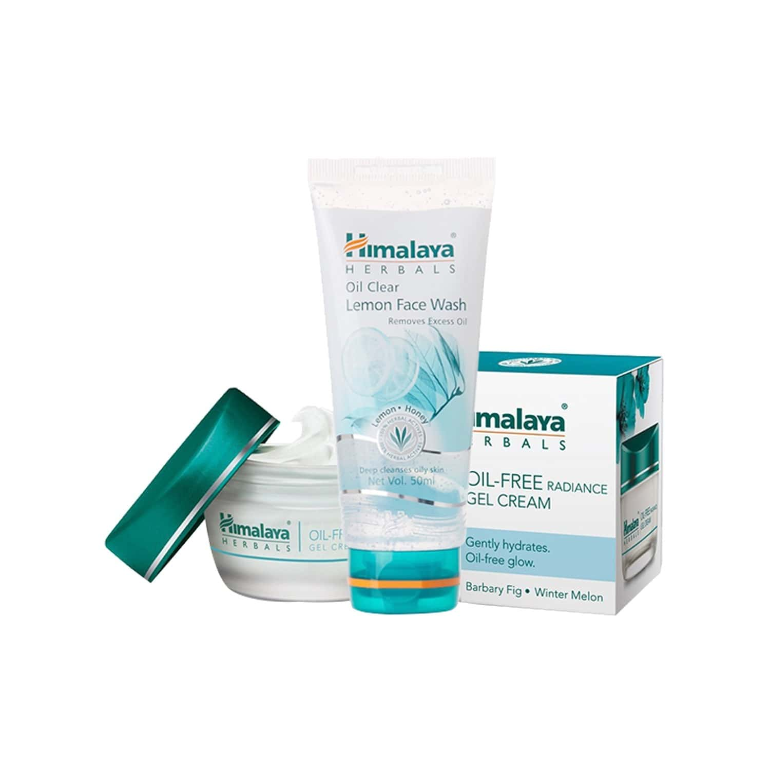 Himalaya Oil Free Value Pack(face Wash And Radiance Gel Cream)